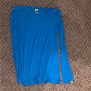 Under shirt for scrubs